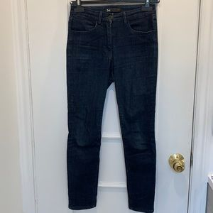 3X1 W3 High Rise Channel Seam Skinny Jeans Size 25